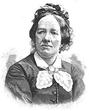 Wilhelmina Gravallius - Wilhelmina Gravallius. Xylography.