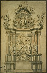 Design for a St. Augustine altar