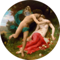 William-Adolphe Bouguereau (1825-1905) - Flora And Zephyr (1875) transparency.png