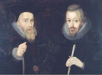 William Cecil, 1st Baron Burghley and Lord Tre...