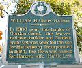 WilliamHarrisHardy HistoricalMarker.jpg