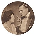 """William Collier and Florence Enright in """"Nothing But Lies"""".jpg"""