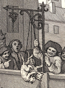 William Hogarth - The First Stage of Cruelty -detail-fighting cats tied by their tails.png