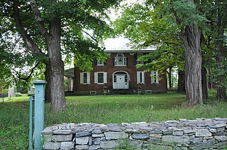 National Register of Historic Places listings in Essex County, New York - Image: Willsboro NY Abraham Aiken House