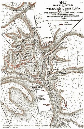 James H. McBride - Battle of Wilson's Creek