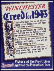 Winchester Creed for 1943 - NARA - 534571