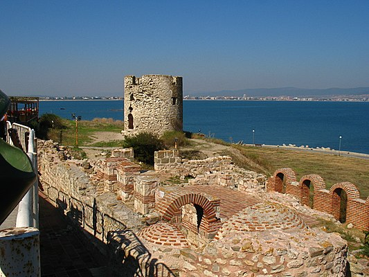 Basilica of the Holy Mother of God Eleusa, Nesebar