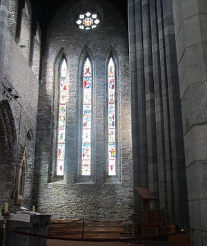 St Mary's Cathedral, Killarney - Image: Window of Killarney Cathedral by Paride