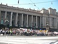 Windsor hotel redevelopment protest 2010 steps parliament house.jpg