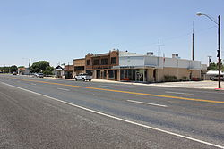 Texas State Highway 115 in Wink