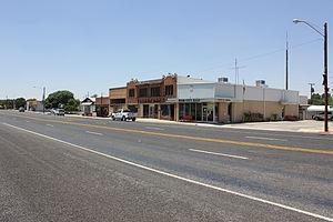 Wink, Texas - Texas State Highway 115 in Wink