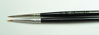 Winsor & Newton - Series 7 kolinsky sable-hair brush