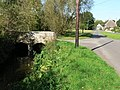 Winterborne Zelston, bridge over stream - geograph.org.uk - 975063.jpg