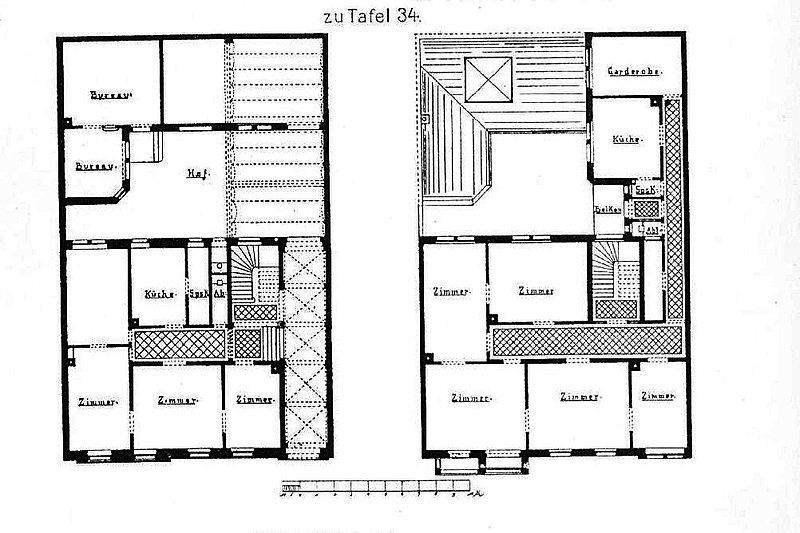 Datei wohnhaus l 14 nr 4 in mannheim architekt l for Wohnhaus grundriss
