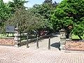 Wolverhampton St Johns Square South Gate.JPG