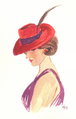 Woman in Red Fedora.png