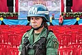 Woman of Bolivarian Armed Forces in a presidential meeting.jpg