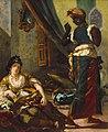 Women of Algiers in Their Apartment by Eugène Delacroix (Houston).jpg