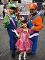 WonderCon 2012 - Luigi, Mario, and Princess Peach (7019609221).jpg