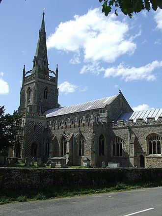 Robert Gardiner (Chief Justice) - St Mary's Church, Woolpit