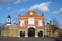 The original gatehouse to Woolwich Royal Arsenal. (February 2007)