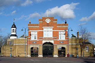 former arsenal in Woolwich in south-east London, England