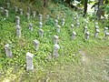 World War I Memorial and headstones in Gyömrő, Pest County, Hungary.jpg