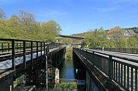 Wuppertal - Wupperbrücke Porta Westfalica Ost + Fischbauchbrücke + Brücke Siegelberg + Brücke Am Kriegermal 01 ies.jpg