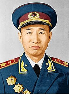 Chinese politician and field marshal
