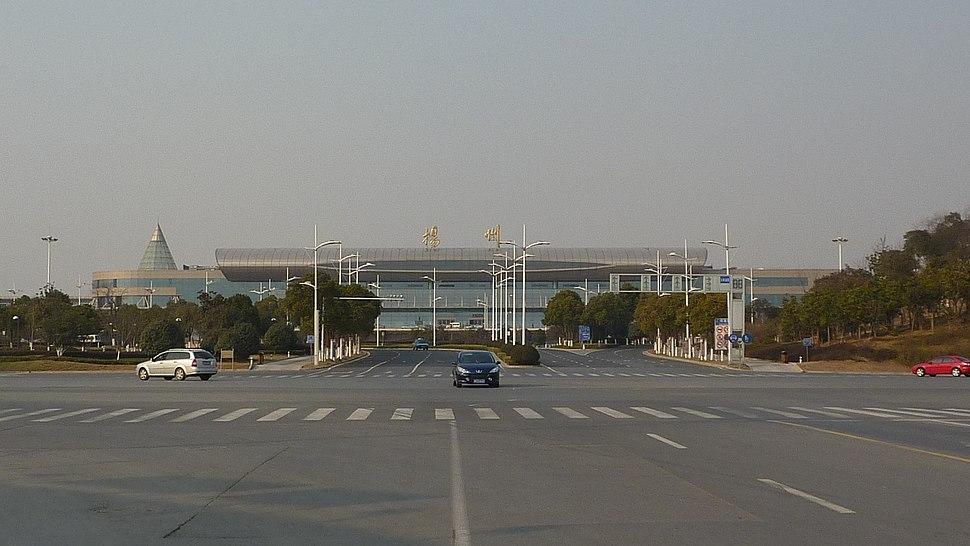 Yangzhou Railway Station - P1070063