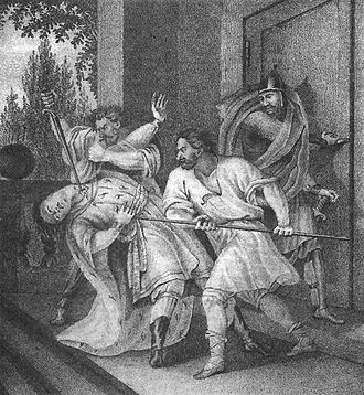 Yaropolk I of Kiev - Murder of Yaropolk