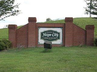 Yazoo City, Mississippi City in Mississippi, United States of America