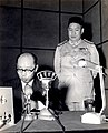Yen Chia-kan at Police Radio Station 1956.jpg