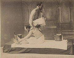 Yermakov. The Oriental bath. Massage. 1880.jpg
