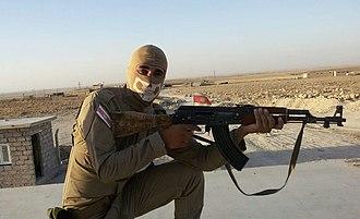 Êzîdxan Protection Force - Yazidi HPÊ-Fighter in Sinjar (2016)