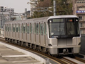 Yokohama Municipal Subway 10000 series - Set 10111, April 2008