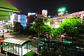 Yokohama station night view (4581696538).jpg