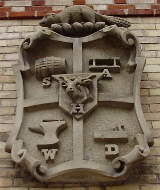 Yorkville, Toronto - Image: Yorkville Village Coat of Arms