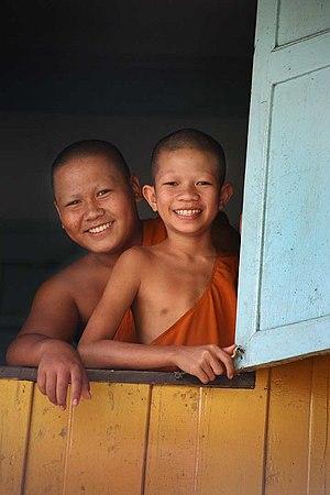 Buddhism in Thailand - Thai novice monks