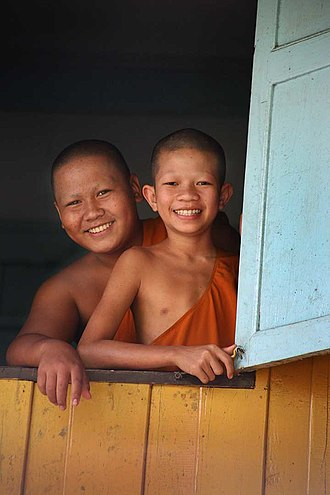 Buddhism in Thailand - Thai novice monks