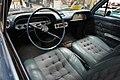 Ypsilanti Automotive Heritage Museum May 2015 038 (1960 Chevrolet Corvair Super Monza interior).jpg