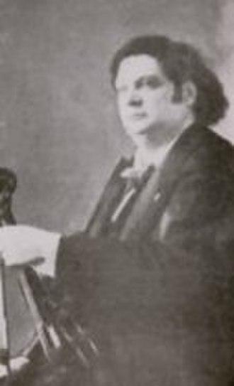 Eugène Ysaÿe - Ysaÿe with violin