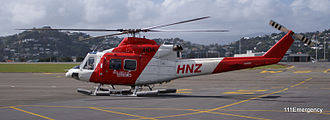 Helicopters (NZ) - HNZ Bell 412