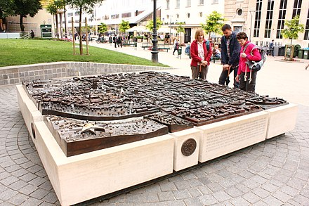 Model of the city by Damir Matausic Zagreb welcomes you.jpg