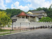 The Temple of the Tooth Relic in Kandy