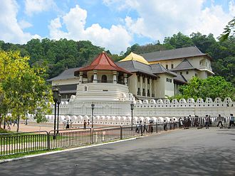 Sinhalese people - The Temple of the Tooth was renovated during the Buddhist revival.