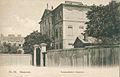 Zamek Ostrogskich od strony ul. Okólnik 1908.jpg