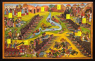 "Battle of Segale - Image: ""Battle of Segale"", Ethiopia 1916, Translation Help"