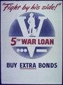 """Fight by his Side^ 5th War Loan"" - NARA - 514245.tif"