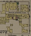 """Golden City Brewery"" in 1886 map detail, Sanborn Fire Insurance Map from San Francisco, San Francisco County, California. LOC sanborn00813 003-30 (cropped).jpg"